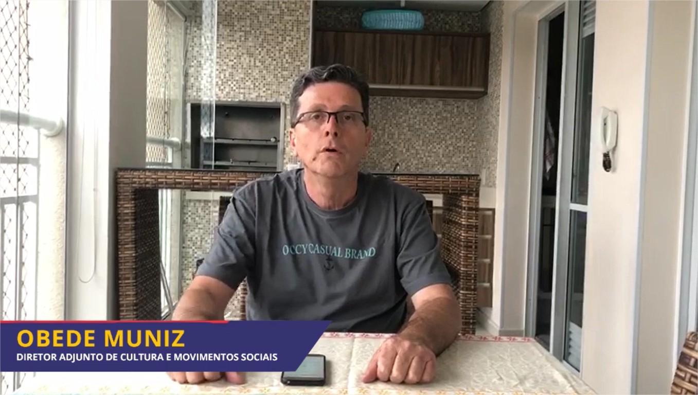 Obede Muniz adere campanha e pede: FIQUE EM CASA