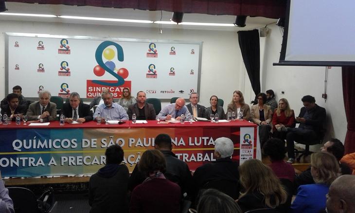 Frente realiza audiência na capital paulista