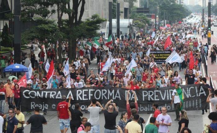 Centrais Sindicais ameaçam greve nacional contra nova Previdência
