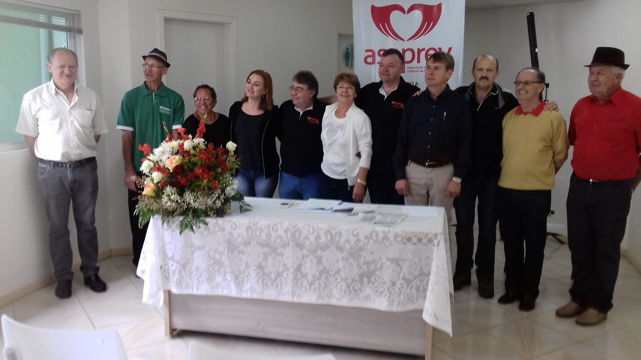 Após ótima gestão, Agostinho é reeleito presidente da Associação de Concórdia