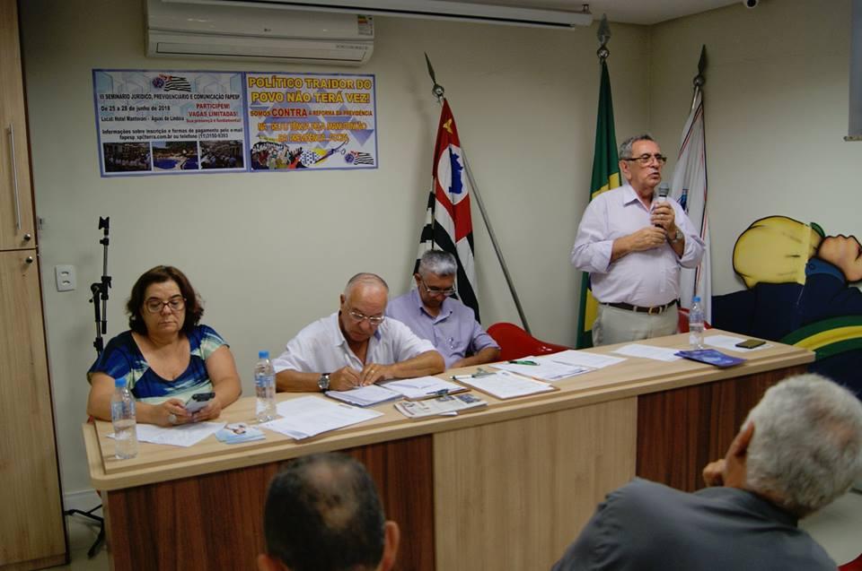 Plenária da Federação de São Paulo debate saúde, previdência e política