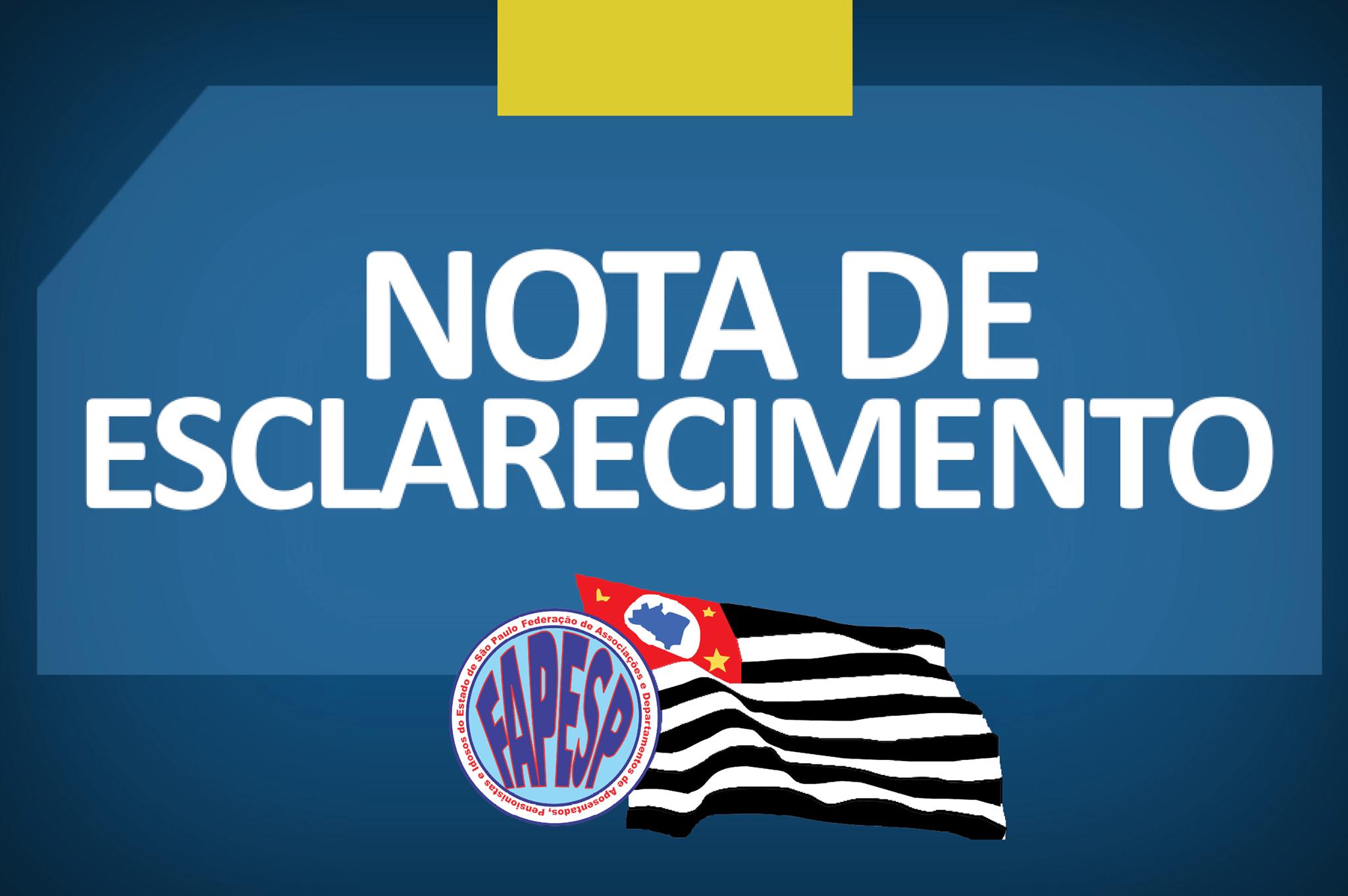 Federação de São Paulo cancela 3º Seminário Jurídico, Previdenciário e Comunicação