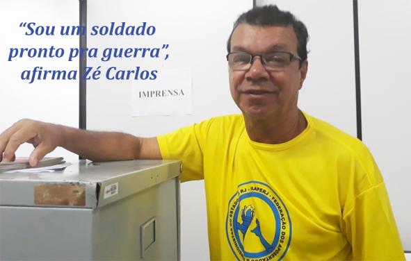 José Carlos, direto de imprensa, é plantonista em Brasília até 5 de abril