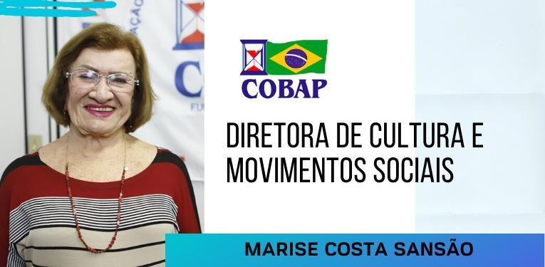 Marise pretende fortalecer reconhecimento de Cultura e Movimentos Sociais na COBAP