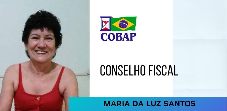 Conselheira fiscal da COBAP, Maria da Luz visa auxiliar cada vez mais aposentados