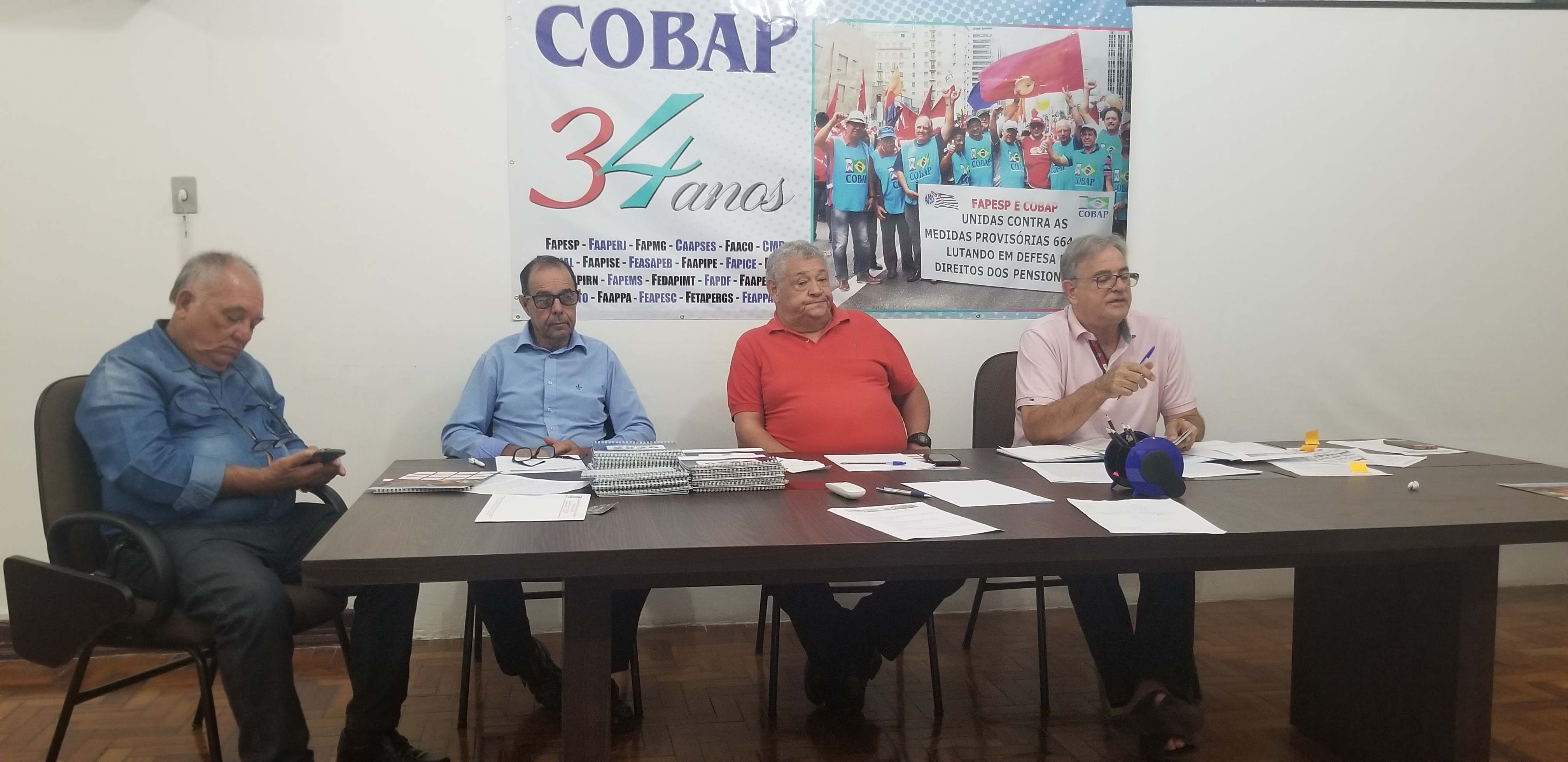 DIREX e CONFIS iniciam primeira semana de reuniões do ano  da COBAP