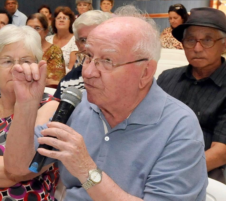 Nota de pesar: Movimento dos aposentados perde Antonio Galdino