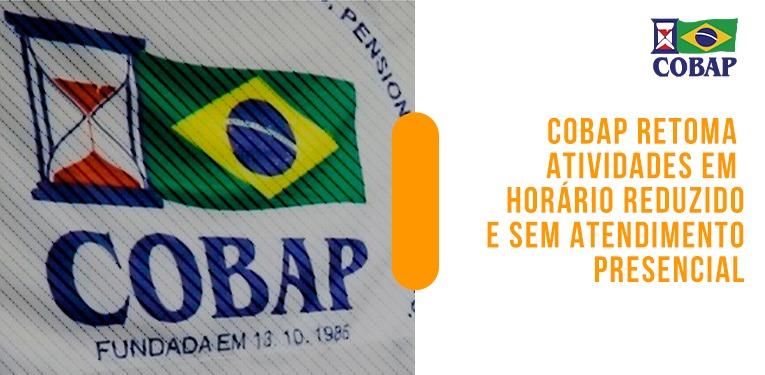 COBAP retoma atividades em horário reduzido e sem atendimento presencial