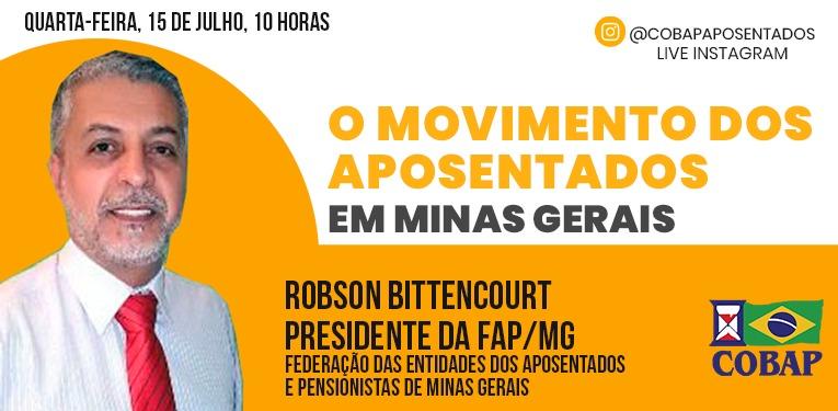 LIVE NO INSTAGRAM: Presidente da FAP/MG é o convidado desta semana