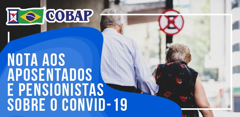 Diretor de Seguridade Social da COBAP reforça sobre medidas individuais em tempos de Covid-19