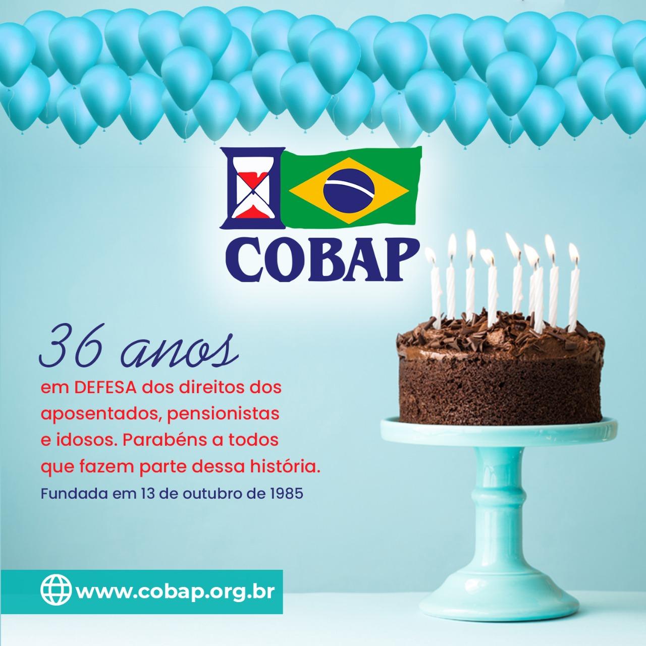 Parabéns COBAP!